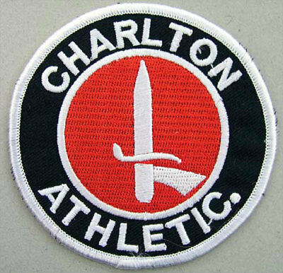 Charlton Athletic Crest Iron on/sew on soccer football patch badge