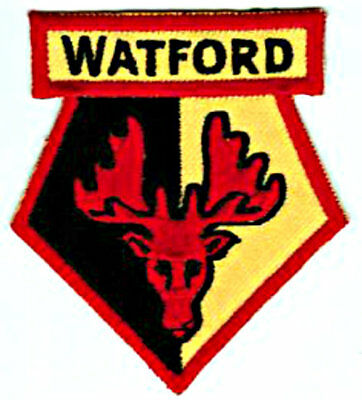 Watford FC Crest Iron on/sew on soccer football patch badge