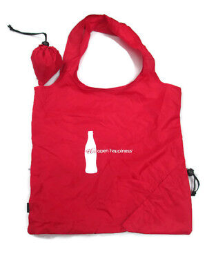 Coca-Cola  Self-storing fold-up Shopper Tote Bag- BRAND NEW