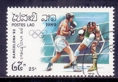 Laos  Boxing  -Olympic 1989.