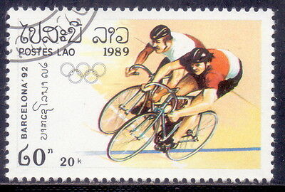 Laos Cycling  -Olympic 1989.