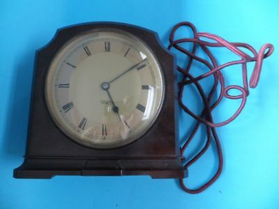 Smiths Electric / Mantle Clock Brown Bakelite Art Deco Style Sectric Clock