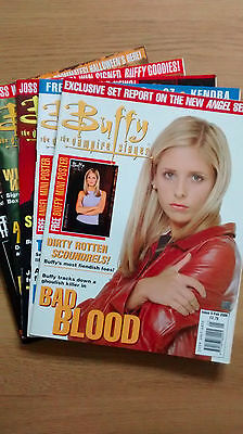 Buffy the Vampire Slayer, UK Magazine, 5 issues from 2000
