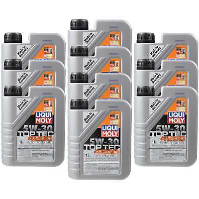 10X1 LITRE GENUINE Liqui Moly 3706 TOP TEC 4200 5W-30 Oil Engine Oil