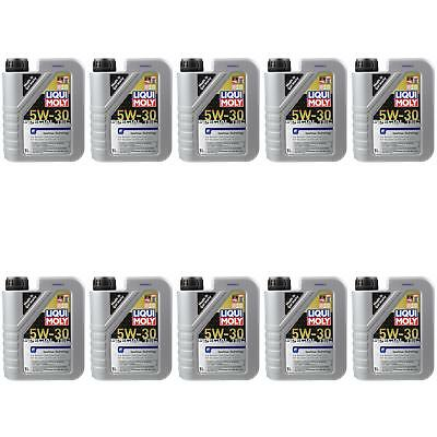 10X1 LITRE GENUINE Liqui Moly 3852 SPECIAL TEC F 5W-30 Oil Engine Oil