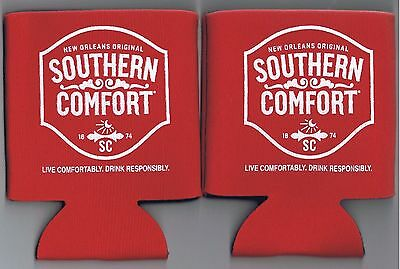 Southern Comfort Advertising Koozie Coozie Lot Bar Distillery New Orleans Liquor