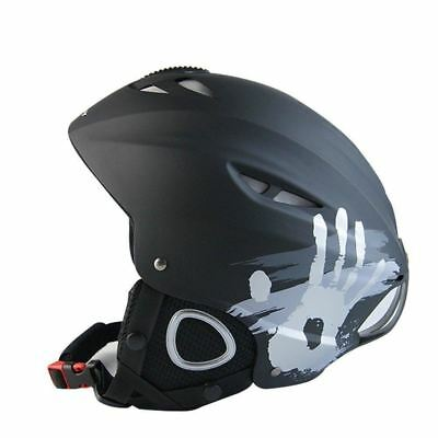 Ski Helmet, Hicool Unisex Adult Snow Snowboard Bike Sports Helmet (Black, L)...