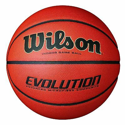 Wilson Evolution Indoor Game Basketball,Official – size 29.5
