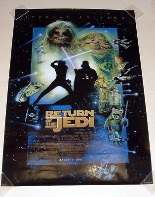 Star Wars, Special Edition Return Of The Jedi Movie Poster - 39 1/2 X 27 - 1997