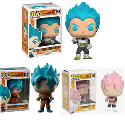 Blue Goku Blue Vegeta Exclusive Pop Dragon Ball Z Super Saiyan Hot New Toy