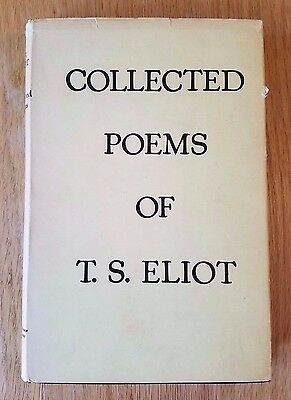 Collected Poems Of Ts Eliot Harcourt Brace 1958 V859