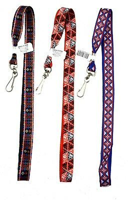 TRIBAL PATTERN LANYARD - neck/strap keys cards cruise tags ID holder kids gift