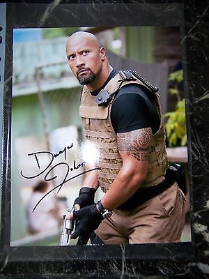 Dwayne Johnson Signed 8X10 Fast And Furious Photo With Coa