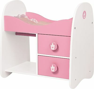 Bayer Design Wooden Doll Bunk Bed & Wardrobe - Pink -From the Argos Shop on ebay
