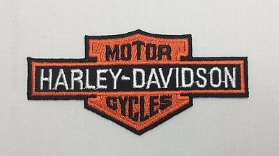 Harley-Davidson Motorcycles Emblem Sew Iron-On Embroidered Applique Patch Badge