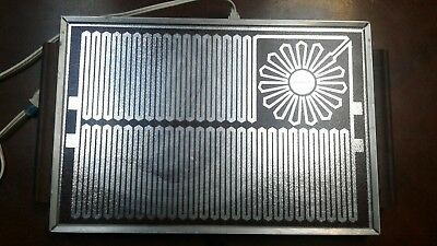 Vintage Salton Warming, Server Tray Hi,Lo Model H-928  325 Watts
