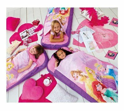 Portable Girls Bed Inflatable Ready Bed Disney Princess Kids Children Toddler