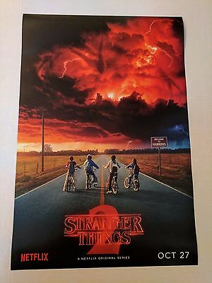 SDCC 2017 Comic Con Exclusive Netflix Stranger Things Poster 13x20