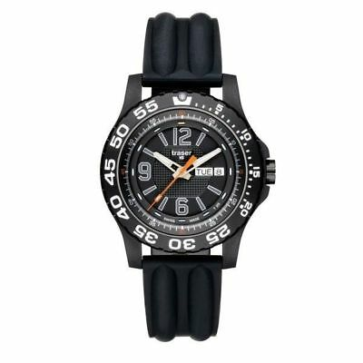 Traser Extreme Sport Pro with Silicone Band Watch (Black)