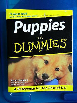 PUPPIES for DUMMIES !!         MSRP $19.99