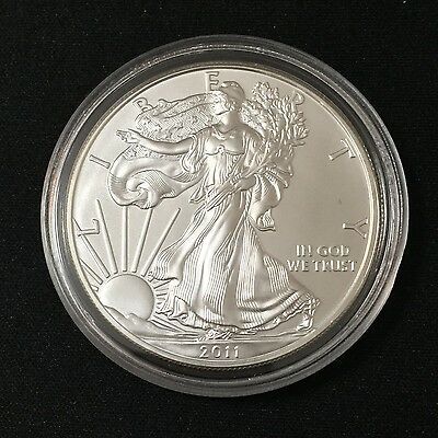 2011 US 1oz Silver Eagle One Dollar $1 UNC