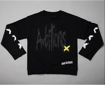 Official One OK Rock 2017 Ambitions Japan tour Tops Black F/S w/ tracking