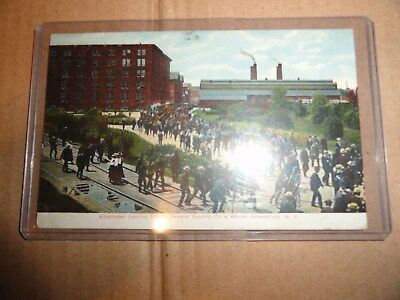 Rare EDISON GENERAL ELECTRIC CO Post Card Scheneciady NY Lamp Light Industrial