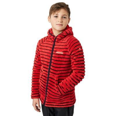 Red Craghoppers Boys' Earlton Fleece Outdoor Clothing Red