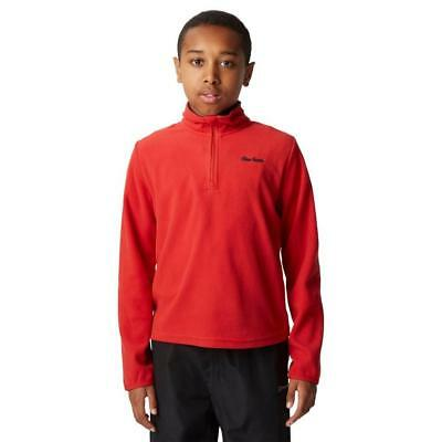 New Peter Storm Boys' Coniston Ii Half Zip Fleece Outdoor Clothing