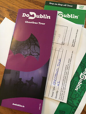 Dubin Ghost Bus Tour Tickets (two adults)