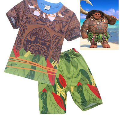 NEW Moana Maui Boys Costume Set or Pyjamas AVAILABLE NOW