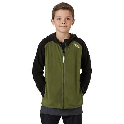 New Regatta Boys' Upflow Fleece Jacket Outdoor Clothing