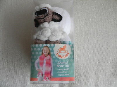 Bella Baby Animal Scarf Kit - Lamb