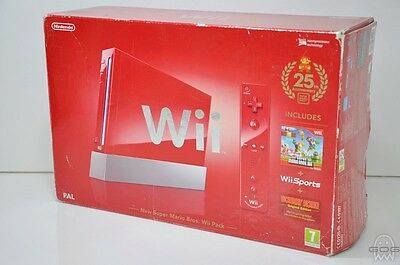 Official NEW SUPER MARIO BROS Wii Console Box - Nintendo