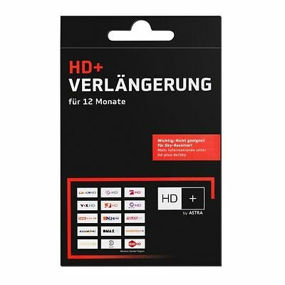 HD + Code  für 12 Monate für 53 HD Plus Sender per mail