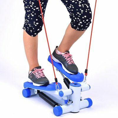 Mini Stepper Twister Step Aerobic Calories Cordes Elastiques Silencienso Fitness