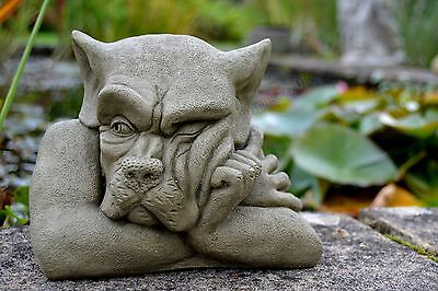 Bert-Garden Ornament-Gargoyle-Sculpture Stone Statue-Home Patio-Decorative Gift