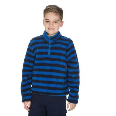 Peter Storm Kids' Teddy Half Zip Fleece Outdoor Clothing Blue