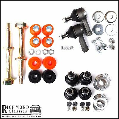 Classic Mini Lower Front Suspension Kit, Track Rod Ends, Ball Joints, Fulcrum P