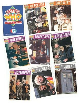 Doctor Who Series 1 (One) - 110 Card Basic/Base Set - Dr Who - Cornerstone