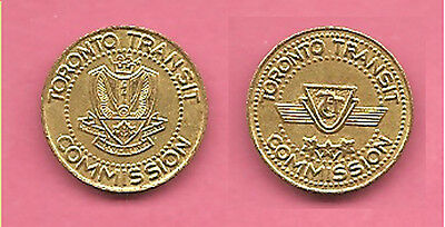 Canada Toronto Transit Commission travel token / coin.