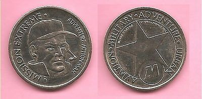 Mission Extreme Adventure Action Man token / coin / medal.1995.