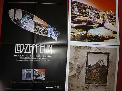1 POSTER LED ZEPPELIN + 2 AFFICHES neuf