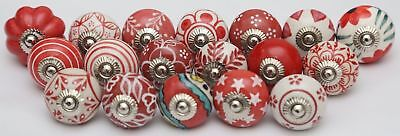Very Beautiful Hand Painted & Crafted Assorted Ceramic Door Pulls Cabinet Knobs