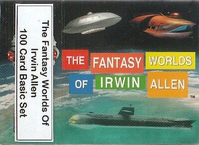 The Fantasy Worlds Of Irwin Allen - 100 Card Basic/Base Set - 2004