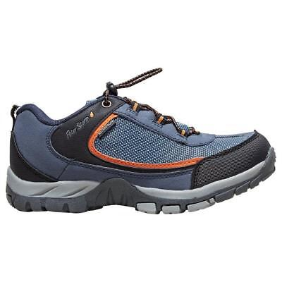 Peter Storm Boys' Hampton Waterproof Walking Shoe Outdoor Footwear Blue
