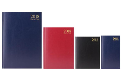 2018 Diary A4 A5 A6 A7 Day a Page Or Week To View , Hardback Business Diaries
