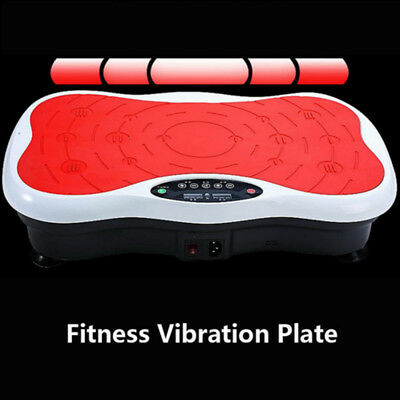 Slim Vibration Machine Trainer Plate Platform Body Shaper Exercise Fitness Red