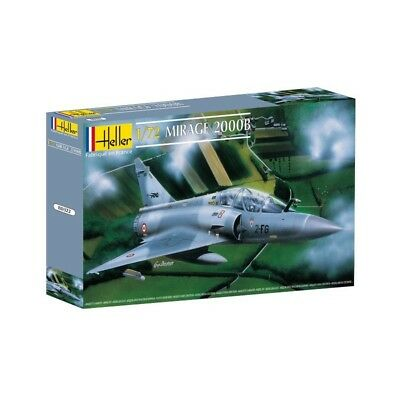 Mirage 2000 B 1/72 Scale Kit Heller 80322 HEL80322 New!