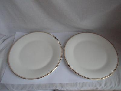 Royal Doulton Gold Concord Dinner Plate 10 5/8 inch x 2